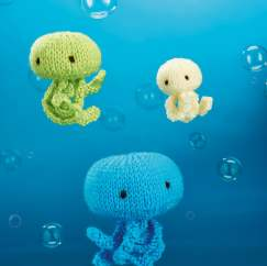 Jellyfish Trio Knitting Pattern