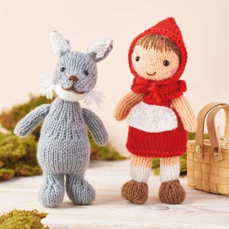 Little Red Riding Hood & The Big Bad Wolf Knitting Pattern