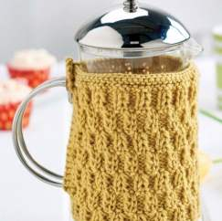 Quick Cafetiere Cosy Knitting Pattern
