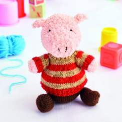 Jimmy the Pig Knitting Pattern