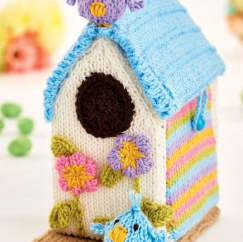 Easy Birdhouse Knitting Pattern