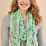 Lace and Bobble Cowl Knitting Pattern