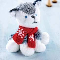 Lemmy The Husky Knitting Pattern