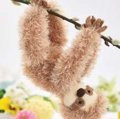 Luke the Sloth Knitting Pattern