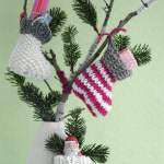 Mini Christmas Stockings Knitting Pattern