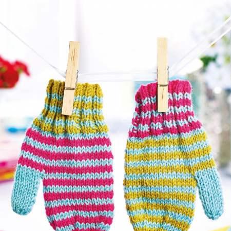 Mittens | Free Knitting Patterns | Let's Knit Magazine