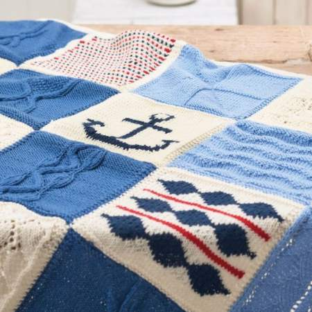 Nicely Nautical Knitalong Blanket Part Two Knitting Pattern