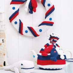 Quick Nautical Collection Knitting Pattern