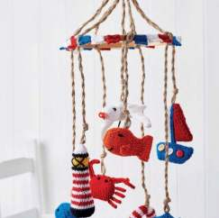 Nautical Nursery Mobile Knitting Pattern