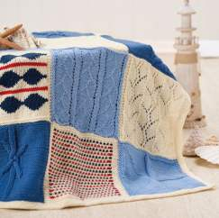 Nicely Nautical Knitalong Blanket Part Five Knitting Pattern