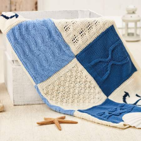 Nicely Nautical Knitalong Blanket Part Four | Knitting ...