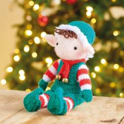 Knitted Elf Knitting Pattern