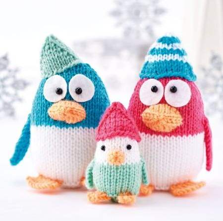 Penguin Collection Knitting Pattern
