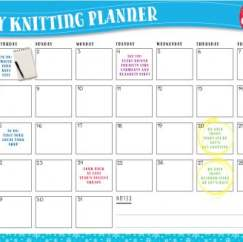 Cast On For Christmas: Knitting Planner