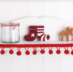 Easy Christmas edging Knitting Pattern