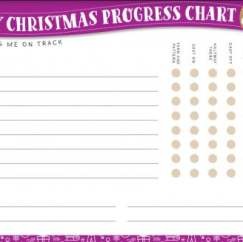 Cast On For Christmas: Progress Chart