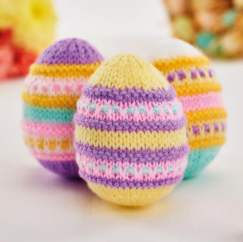Quick Easter Eggs Knitting Pattern