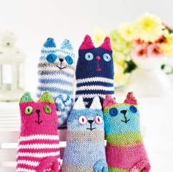 Quick Knitted Cats Knitting Pattern