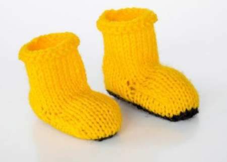 RNLI charity welly pattern | Free Knitting Patterns | Let ...