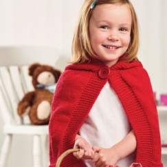 Red Riding Hood Cape For The Big Christmas Cast On Knitting Pattern