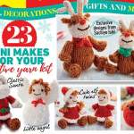 Rudolph And Friends Christmas Toys And Decorations Knitting Pattern