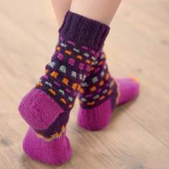 Bright Socks Knitting Pattern