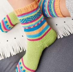 Socks On Two Needles Knitting Pattern