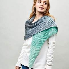 Sparkle Yarn Cake Shawl Knitting Pattern