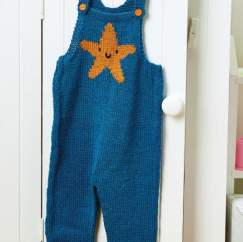 Star Baby Dungarees
