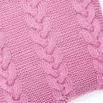 Strawberry Cable Cushion Knitting Pattern