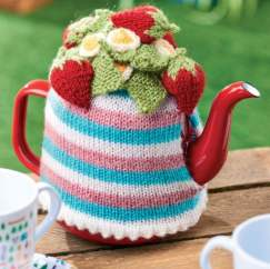 Striped Teacosy Knitting Pattern