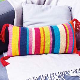 How to: work stripes (carrying yarn up side) Knitting Pattern