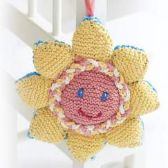 Sunny Pram Toy Knitting Pattern