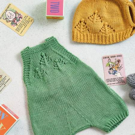 Vintage Vibes Baby Set Part One Knitting Pattern