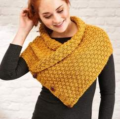 Quick Chunky Cowl Knitting Pattern