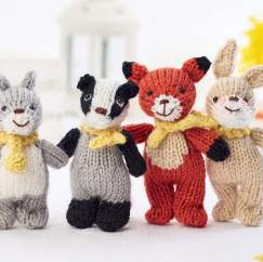 Woodland Friends Knitting Pattern
