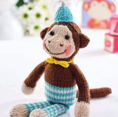 Chester the Monkey Knitting Pattern
