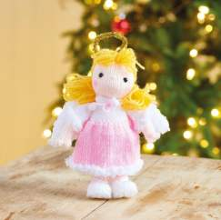Quick Christmas Angel Knitting Pattern