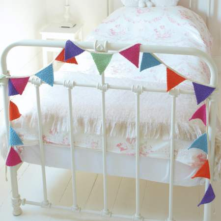 Colourful Knitted Bunting Knitting Pattern