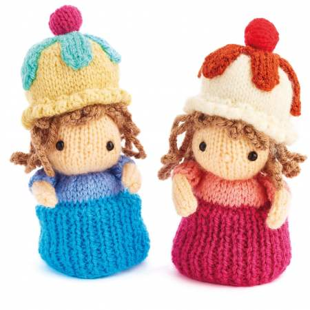 Cupcake Dolls Knitting Pattern
