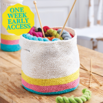 Early Access: Quick Storage Baskets Knitting Pattern
