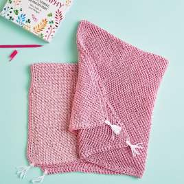 Emmaknitty Exclusive: Ombre Blanket Knitting Pattern