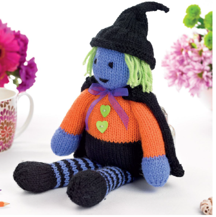 Halloween Witch | Knitting Patterns | Let's Knit Magazine
