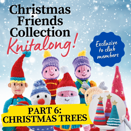 Christmas Friends Knitalong Part 6: Christmas Trees Knitting Pattern
