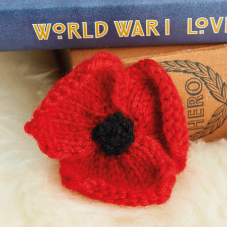 How To Knit a Poppy | Free Knitting Patterns | Let's Knit ...