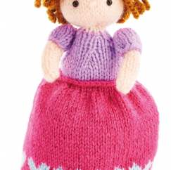 Topsy Turvy 2-in-1 Princess Doll Knitting Pattern
