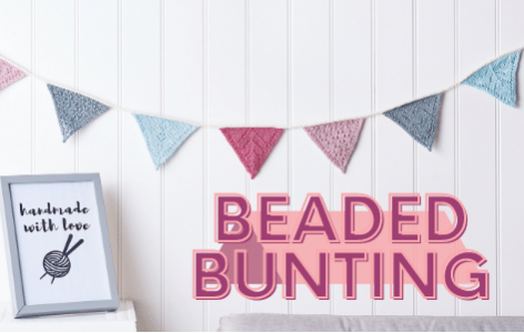 Beaded Bunting Knitalong