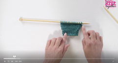 Essential Shaping Knitting Video