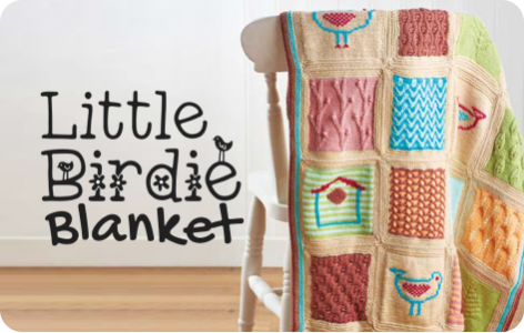 Little Birdie Blanket Knitalong