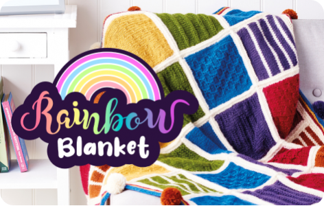 Rainbow Blanket Knitalong